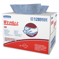 Wypall X90 Cloths, Denim Blue, 136 / Carton (Quantity)