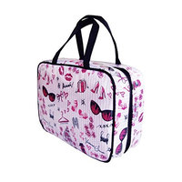 Victoria's Secret Pink Valentine Hanging Travel Cosmetic Case