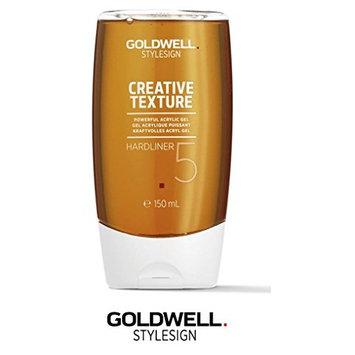 Goldwell Stylesign Creative Texture Hardliner 5 Powerful Acrylic Gel- 5oz (with Sleek Steel Pin Tail Comb)