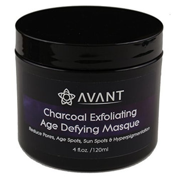 Charcoal Face Mask, Pore Minimizing Mask, Clay Face Mask, Detox Mask. Healing Clay, Botanical Oils and Activated Charcoal good for Exfoliating and Hydrating | USA Organic and Natural | Avant