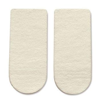 HAPAD 3/4 Length Heel Wedges, Medium, 3x7/16 inch, pair