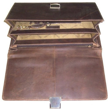 Greenland nature Briefcase, business bag Brown
