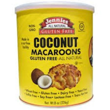 Jennies Macaroons Gluten Free Coconut -- 8 oz pack of 3