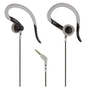 Scosche Sport Clips II Earbuds, Black