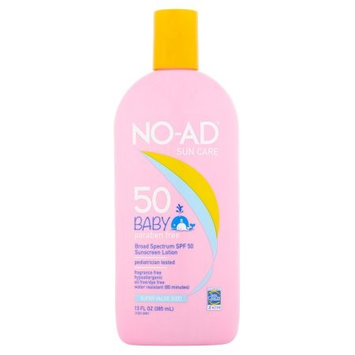 NO-AD Baby SPF 50 Sunscreen Lotion 13.0 oz.(pack of 12)