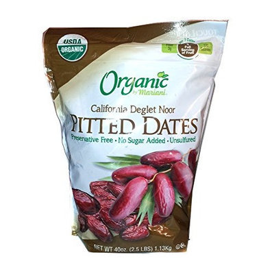 Organic by Mariani 2.5 Lb Organic Pitted Dates