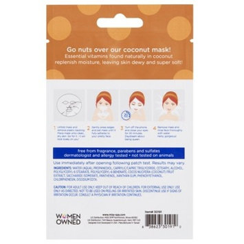 Miss Spa Coconut Facial Sheet Mask - 1ct