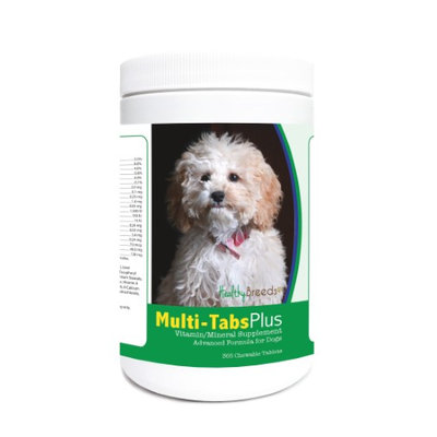 Healthy Breeds 840235122593 Cockapoo Multi-Tabs Plus Chewable Tablets - 365 Count