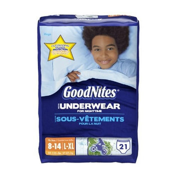 GoodNites Underwear, Boys, Large/Extra-Large, 21 Count [21]
