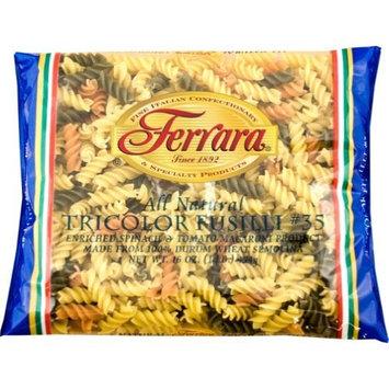 Ferrara Pasta, Tricolor Fusilli, 1-Pound (Pack of 20)