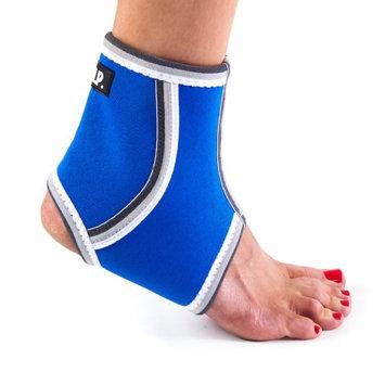 Black Mountain Products Ankle Brace Blue M Breathable Lightweight Neoprene Black Ankle Blue, Medium
