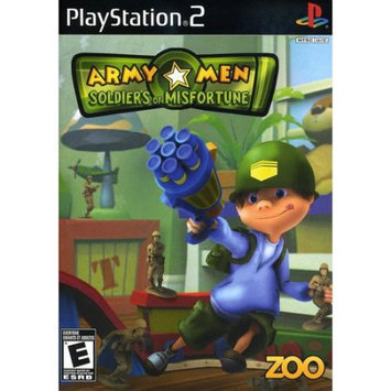 Zoo Games, Inc Zoo Games 802068101688 Army Men: Soldiers of Misfortune Game for PlayStation 2