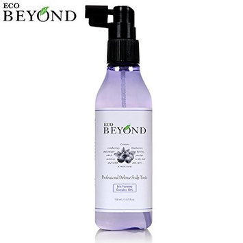 Professional Scalp Toner [Eco Beyond] Defense Tonic For Oily Balding Scalp, Anti-Thinning Hair Treatment 150mL/5.07Oz