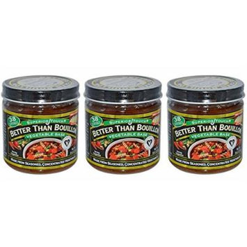Better Than Bouillon, Superior Touch, Vegetable Base, 8 oz (227 g) - (Pack of 3)