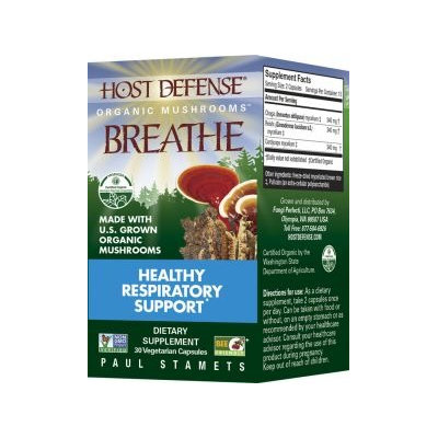 Fungi Perfecti / Host Defense Breathe Fungi Perfecti/Host Defense 30 VCaps