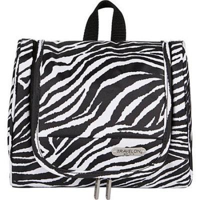 Travelon Hanging Toiletry Kit, Zebra, One Size