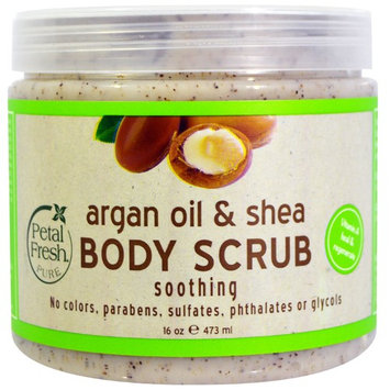 Petal Fresh, Pure, Argan Oil & Shea Body Scrub, 16 oz (473 ml) [Scent : Argan Oil & Shea]