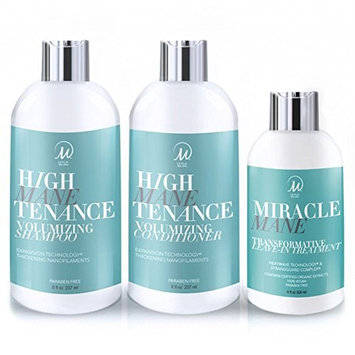 Amazon Prime Deals 2018 - Leyla Milani Hair - Trio Set High Manetenance, Includes Shampoo, Conditioner and Miracle Mane Leave in Conditioner - Hair...