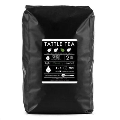Tattle Tea - Peony white tea, Loose Leaf Tea, 32 Ounce