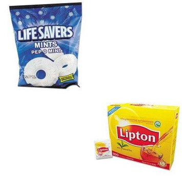 KITLFS88503LIP291 - Value Kit - Lifesavers Hard Candy (LFS88503) and Lipton Tea Bags (LIP291)