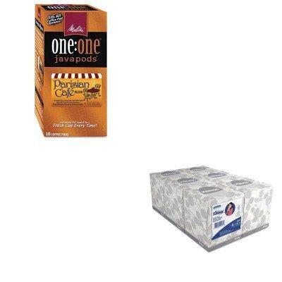 KITKIM21271MLA75424 - Value Kit - Melitta One:One Coffee Pods (MLA75424) and KIMBERLY CLARK KLEENEX White Facial Tissue (KIM21271)