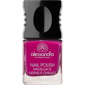Alessandro Nail Polish, Vibrant Fuchsia, .34 Fluid Ounce