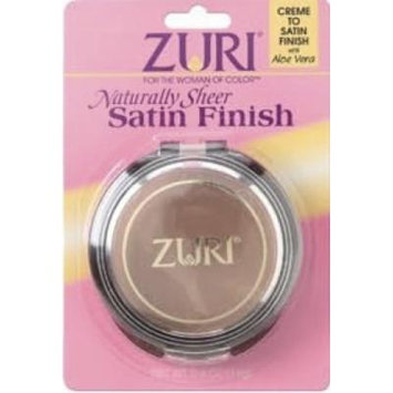 Zuri Naturally Sheer Satin Finish Pressed Powder Sandstone by Zuri