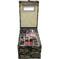 Wet n wild The Color Workshop Beauty Traveller 20 Piece make up Collection Large Train Case-Beige Lace