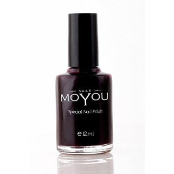 Burgundy, Down Grey, Top Coat Colours Stamping Nail Polish by MoYou Nail used to Create Beautiful Nail Art Designs Sourced Directly from the Manufacturer - Bundle of 3