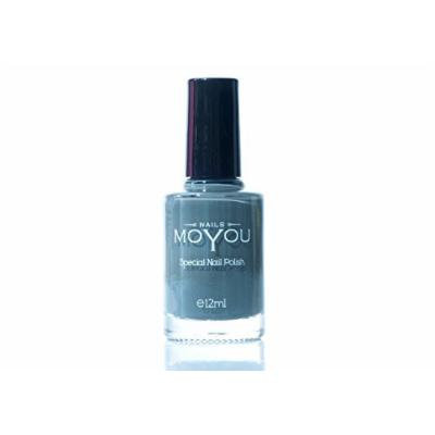 Down Grey, Majestic Violet, Powder Blue Colours Stamping Nail Polish by MoYou Nail used to Create Beautiful Nail Art Designs Sourced Directly from the Manufacturer - Bundle of 3