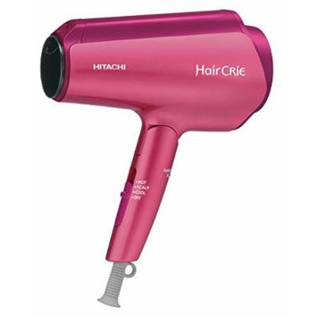 HITACHI Hair CRIE Plus Nano Ion Dryer Pink Topaz HD-NS800 P