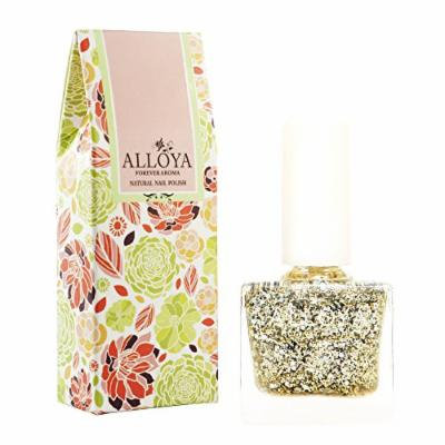 Alloya Natural Non Toxic Nail Polish, Water Based, Full Color (111)
