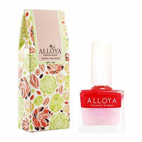 Alloya Natural Non Toxic Nail Polish, Water Based, Full Color (103)