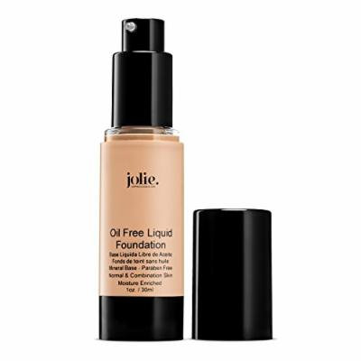 Jolie Oil Free Liquid Foundation - Matte Finish (Deep Porcelain)