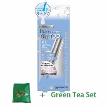 K-Palette Lasting Lip Tint Maxi Plus - Aurora Blue (Green Tea Set)