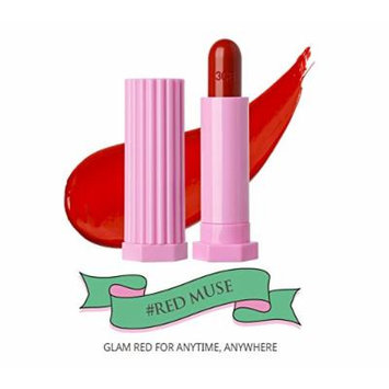 3 Concept Eyes Stylenanda 3CE Love Glossy Lip Stick (3.5g) (Red Muse)