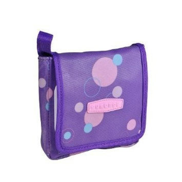 The First Years GumDrop Pacifier Case with Wipes - 40 ct. - Purple