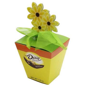 Dove Easter Milk Chocolate Caramel Flowers, 3.64-Ounce