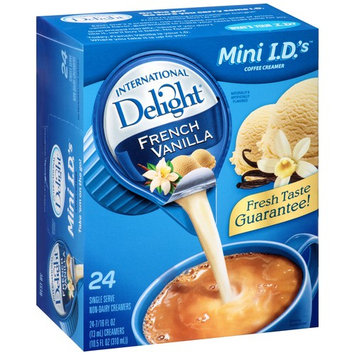 (Pack of 6) International delight french vanilla creamers, 24 Count - $0.1/ct
