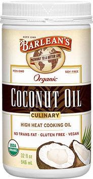 Barleans Culinary Coconut Oil Barlean's 32 oz Oil