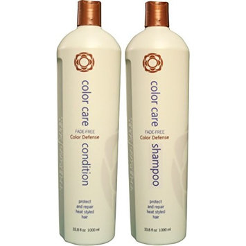 Thermafuse Color Care Shampoo & Condition Duo (33 oz) Sulphate Free, Color Brightening, Shampoo That Prevents Color Fading. For Colored, Bleached & Highlighted Hair of All Types.