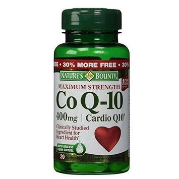 Nature's Bounty Co Q-10 400 mg Softgels 39 Each