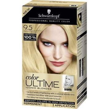 Schwarzkopf Color Ultime Iconic Blondes Hair Coloring Kit, 9.5 Caramel Blonde