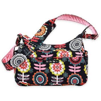 Ju Ju Be Ju-Ju-Be Unisex Hobo Be Diaper Bag Dancing Dahlias Size 5.5