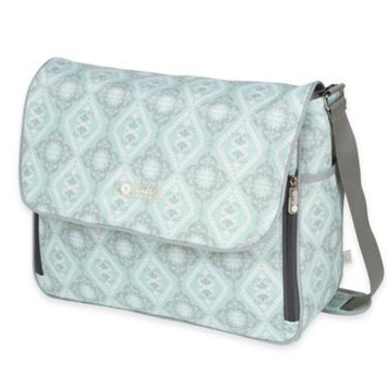 The Bumble Collection Amber Diaper Tote, Green