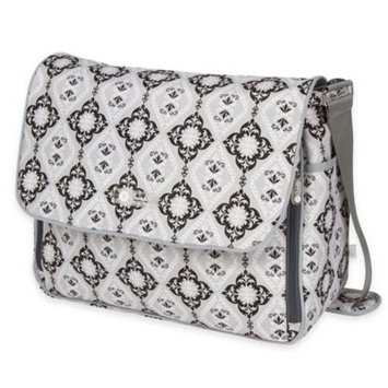 The Bumble Collection Amber Diaper Tote, Grey