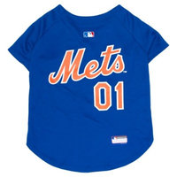 MLB Pets First Baseball Dog Jersey - New York Mets