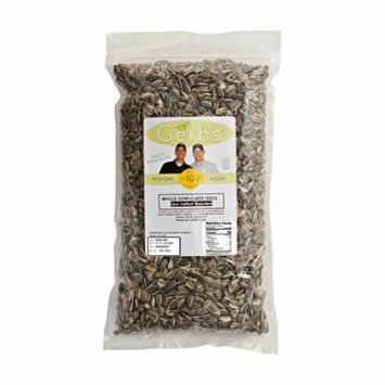 Sea Salted Sunflower Seeds In Shell by Gerbs - 2 LBS - Top 12 Food Allergen Free & NON GMO - Product of United States