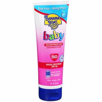 Banana Boat Baby Sunscreen Lotion, SPF 50 8.0 fl oz(pack of 6)