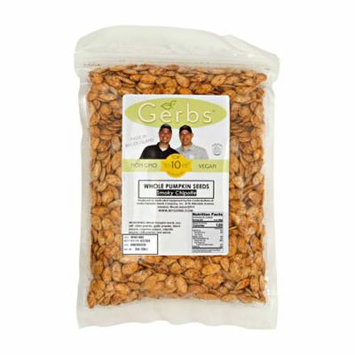 Chipotle Pumpkin Seeds In Shell by Gerbs - 2 LBS - Top 12 Food Allergen Free & NON GMO - Vegan & Kosher